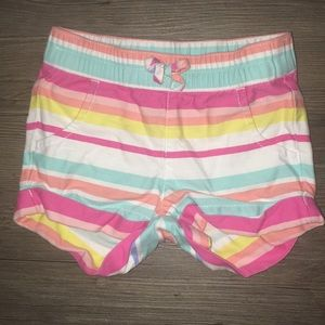 Multicolor Baby Girl Shorts!!